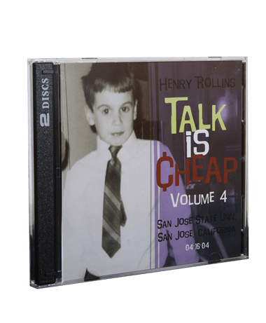 Henry Rollins - Talk is Cheap Vol. 4