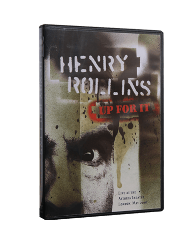 Henry Rollins - Up For It DVD