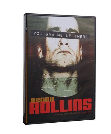 Henry Rollins - You Saw Me Up There DVD