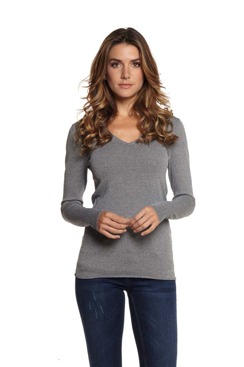 ALLIE Long Sleeve V-Neck