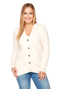 ALYSSA Two Rolled Pocket Cardigan