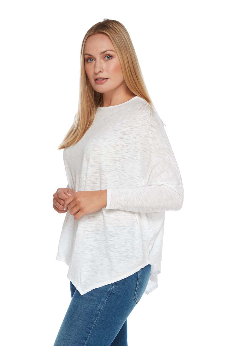 Charlotte Angled Long Sleeve Top