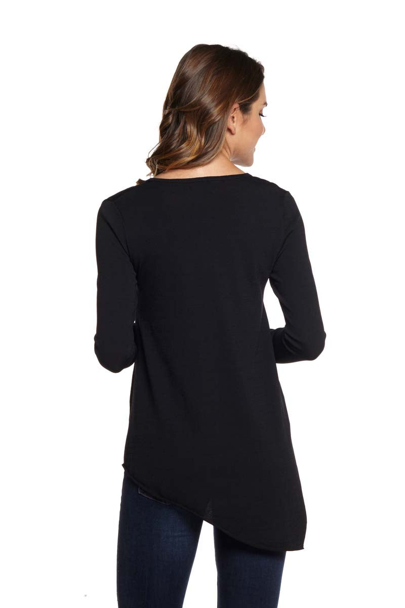 DEMI Long Sleeve V-Neck