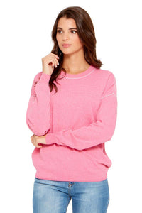 KELSEA Drop Shoulder Boxy Sweater