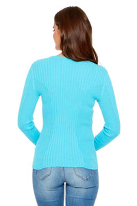 LELA Lightweight Ribbed Sweater