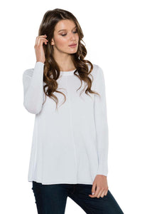 LUNA Scoop Neck Long Sleeve