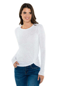 PRYA Side Twist Long Sleeve Tee