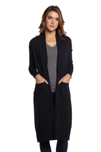 REGAN Long Sleeve Maxi Cardigan