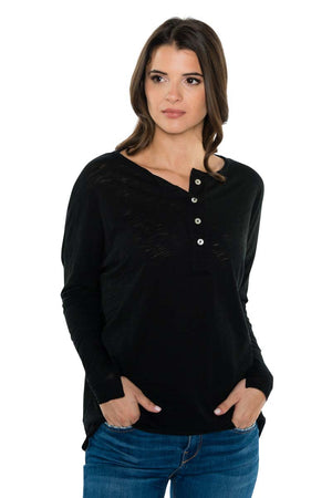 TAYLOR Classic Long Sleeve Henley