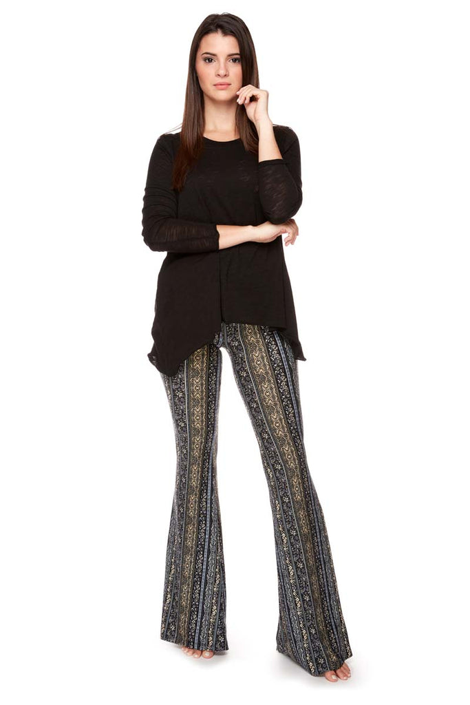 VICTORIA  Fitted Flared Pant