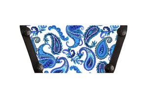 ** NEW Blue Paisley ***