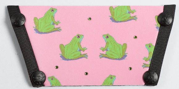 Frogs on Pink