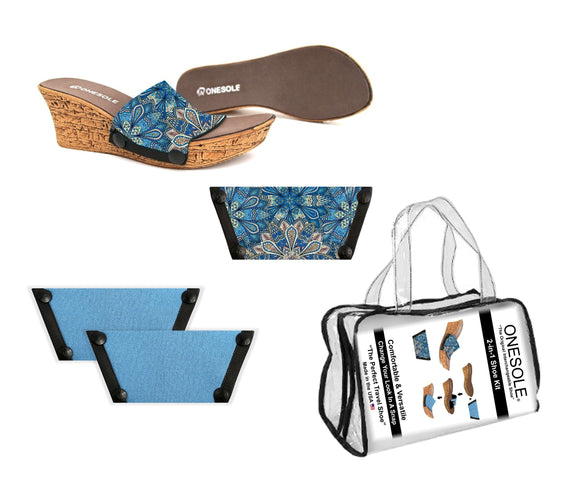 A Resort Travel  Shoe Kit Casual
