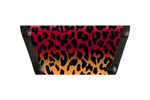 Red Ombre Leopard