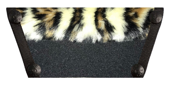 Leopard Fur on Black