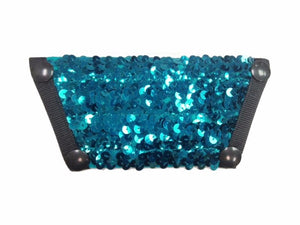 Sequin Top - Teal