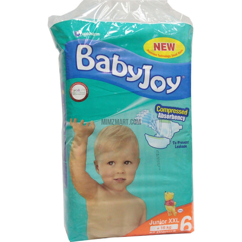 Babyjoy Diapers Junior Xxl 16kg 38's