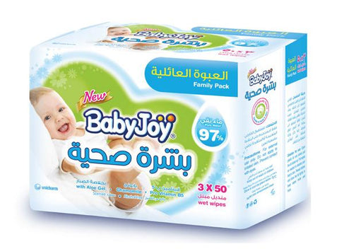 Babyjoy Baby Wet Wipes 150 Wips