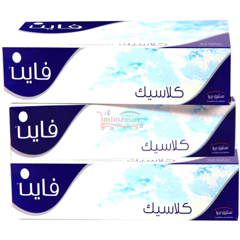 Fine Facial Tissues 3x150ply