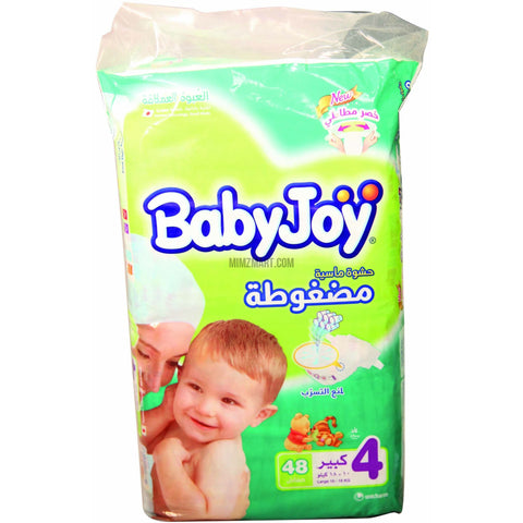 Baby Joy Diapers Large 10-18 Kg 48 Diapers
