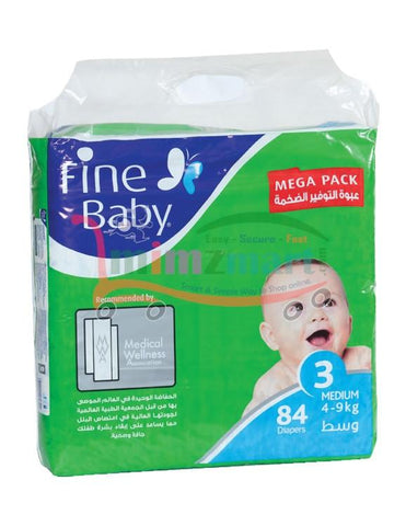 Fine Baby Diapers Mega Pack
