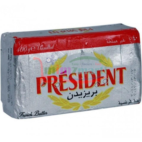 President Unsalted Butter 400 Gm