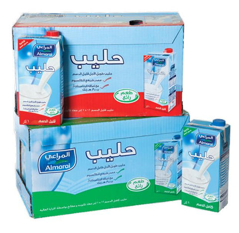 AlMarai Milk Long 12*1 liter