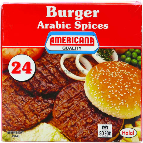 Americana Burger with Arabic Spices 24