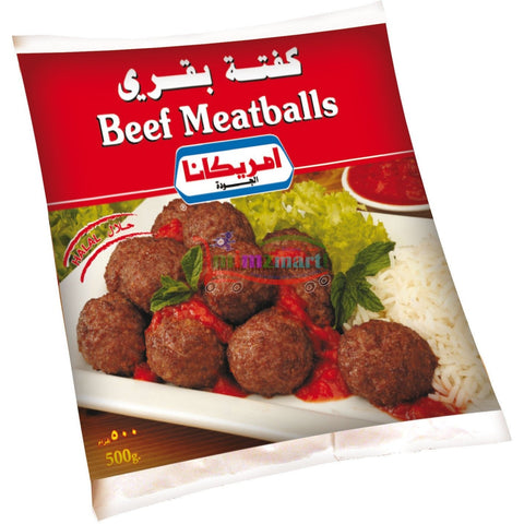 Americana Beef Meat Ball (Kofta) bag 500gm