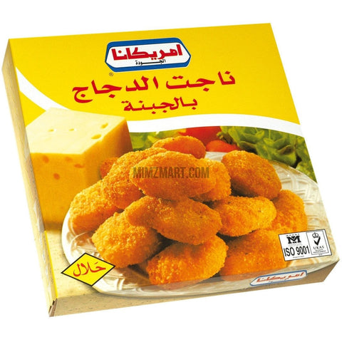 Americana Chicken Nuggets Cheese 400gm