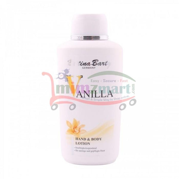 Bettina Barty Vanilla Hand & Body Lotion 500 ML - mimzmart.com
