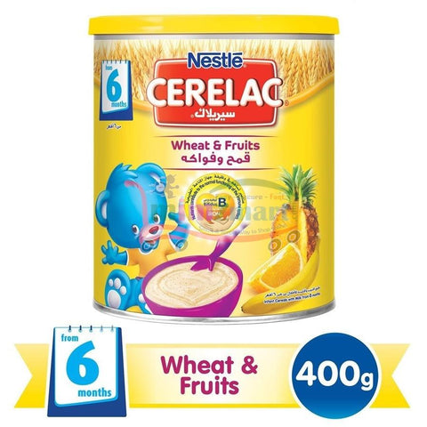 Cerelac Wheat Fruits 400g