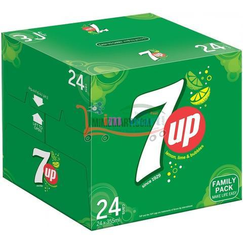 7Up Can 24*330 ml