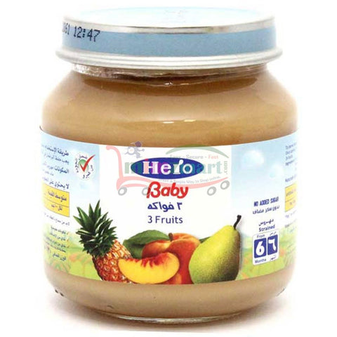 Hero Baby 3 Fruits 130 Ml
