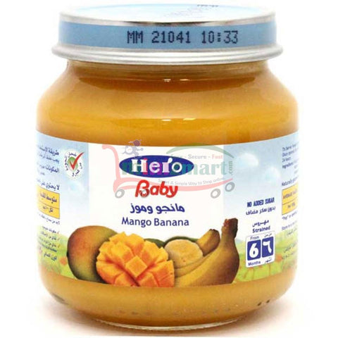 Hero Baby Mango Banana 130 Gm