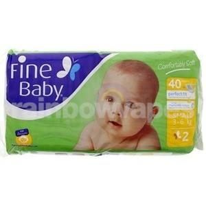 Fine Baby Small 2 3 - 6 Kg 40 Diapers