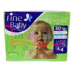 Fine Baby Diaper Large 7-17 Kg 30 Pieces
