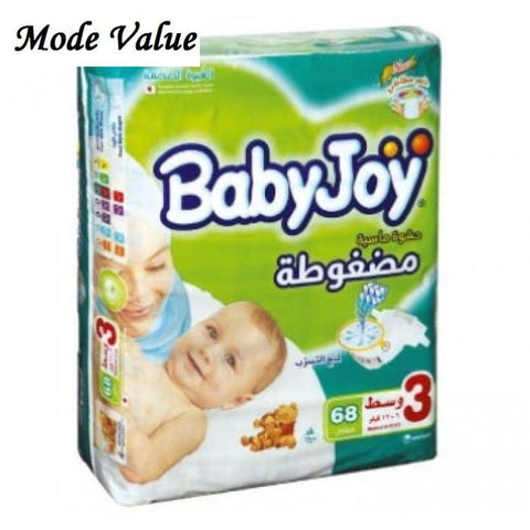 BabyJoy Giant Medium Pack 68 Diapers