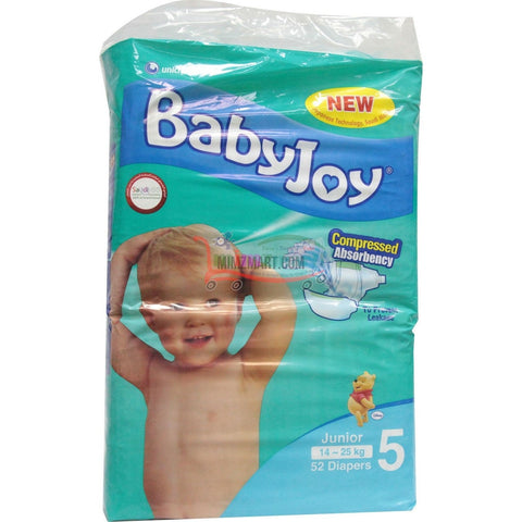 Babyjoy Giant Junior Pack 52's
