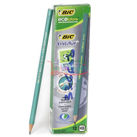 Bic Ecolutions Pencil 12 Pieces