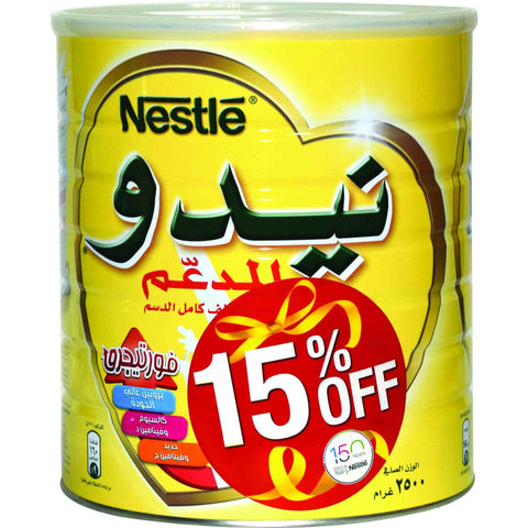 Nido Milk Powder 2.5kg 15%off
