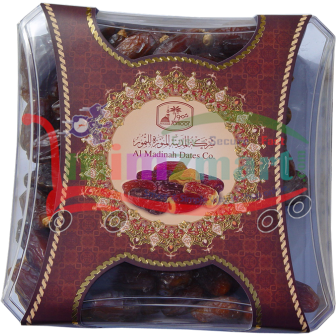 Sukkery Dates with Seed 1 Kg Plastic box with sleeve