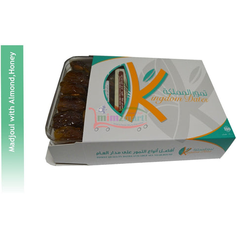 Madjoul with Almond, Honey Gift Box 500gm