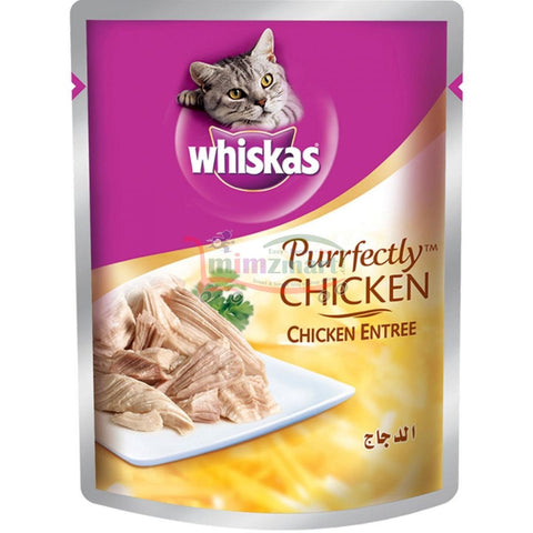 Whiskas Pouch Perfectly Chicken 85 Gm