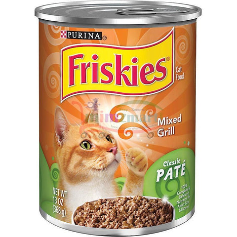 Friskies Mixed Grill Cat Food, 13 Ounce