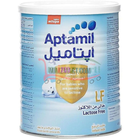 Aptamil Lactose Free Milk 400 Gm