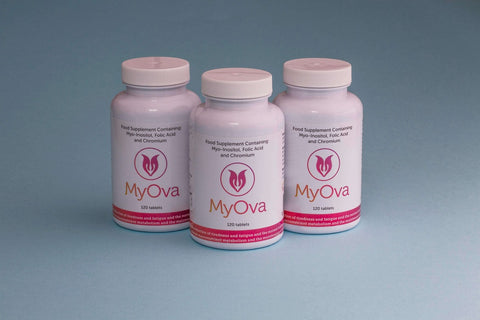 MyOva natural food supplement for PCOS