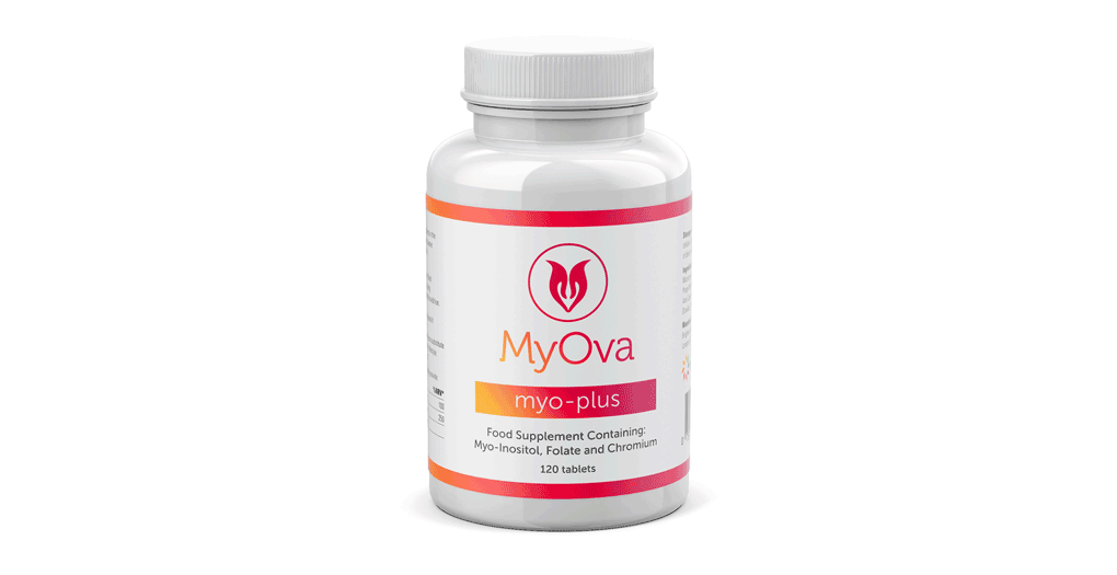 Why choose new double strength MyOva Myo-Plus with Myo-Inositol, Folate & Chromium?