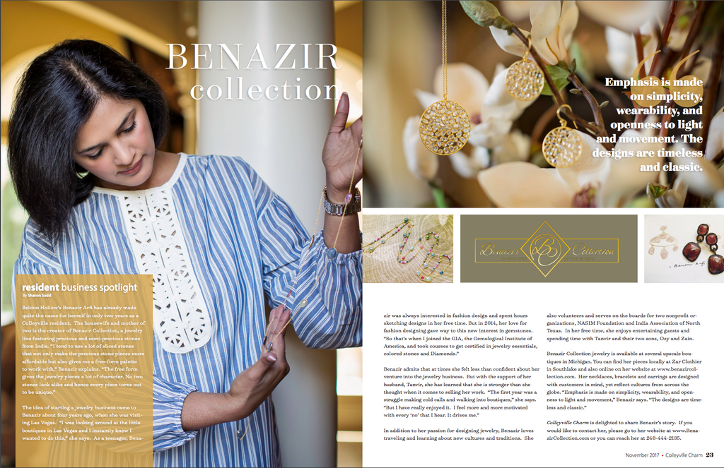 Feature on Benazir Collection