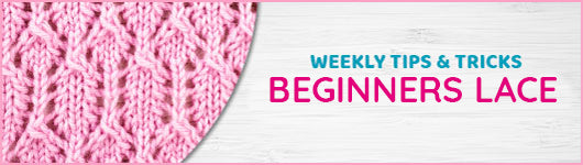 Stitch of the Week: Beginner's Lace